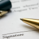 signature contract