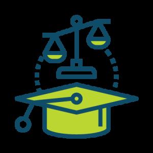 law graduate icon