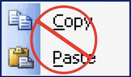 don't copy paste