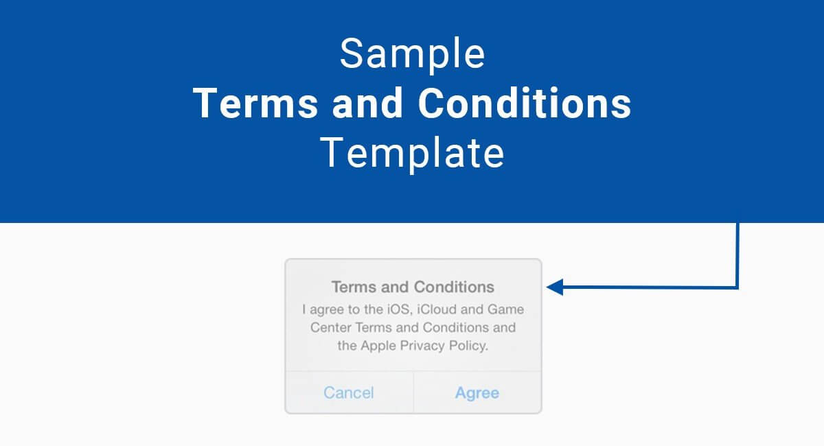 Terms And Conditions Free Template
